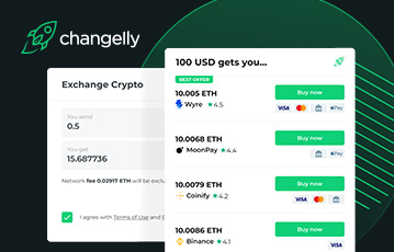 Changelly Review Payment Choices