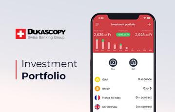 Dukascopy Review Mobile App Portfolio